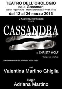 Locandina_Cassandra_Teatro-Orologio_dal-12-al-24-Marzo