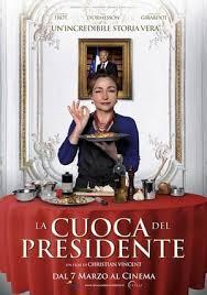 cuoca del presidente poster