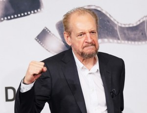 ROME, ITALY - NOVEMBER 17:  Director Larry Clark poses with his Golden Marc'Aurelio for Best Film druing the Award Winners Photocall during the 7th Rome Film Festival at Auditorium Parco Della Musica on November 17, 2012 in Rome, Italy.  (Photo by Ernesto Ruscio/Getty Images) *** Local Caption *** Larry Clark