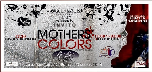 MOTHERS COLORS INVITO fronte