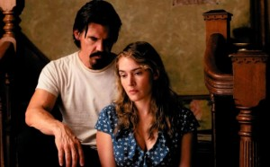 From left, Josh Brolin is Frank and Kate Winslet is Adele in the movie LABOR DAY, directed by Jason Reitman to be released by Paramount Pictures and Indian Paintbrush. Photo Credit: Dale Robinette.